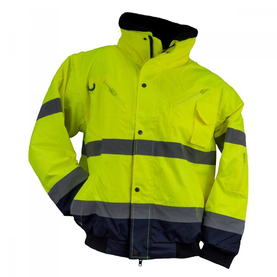 DERBI Team Webshop - Urgent kabát jólláthatósági 3W1 sárga (VT05572) 5ee0565877