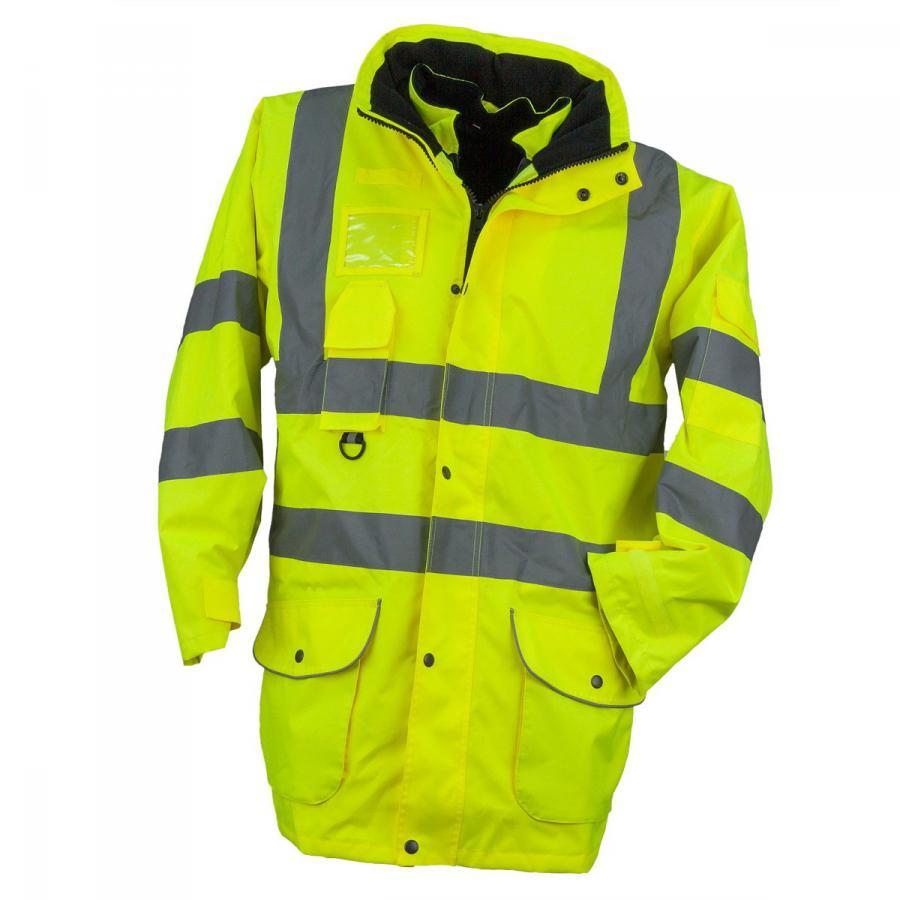DERBI Team Webshop - Urgent kabát jólláthatósági 7W1 sárga (VT05598) 7490a5d333
